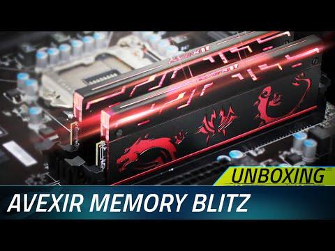 Unboxing Ram Memoire Avexir Blitz 1.1 Series By Lahlou Industrie