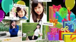 Nhận làm video clip chúc mừng sinh nhật, tặng người yêu theo yêu cầu