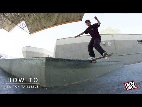 How-To Switch Tailslide With Trent McClung | TransWorld SKATEboarding