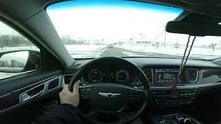 2014 Hyundai Genesis 3.0 Gdi. Htrac. Pov Test Drive