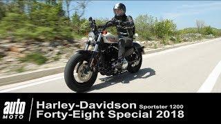 2018 Harley-Davidson Forty-Eight Special 1200 Sportster ESSAI Auto-Moto.com