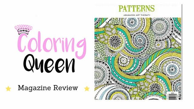 Colouring Pattern Magazine : Zen Colouring Patterns Adult Coloring Magazine Review YouTube