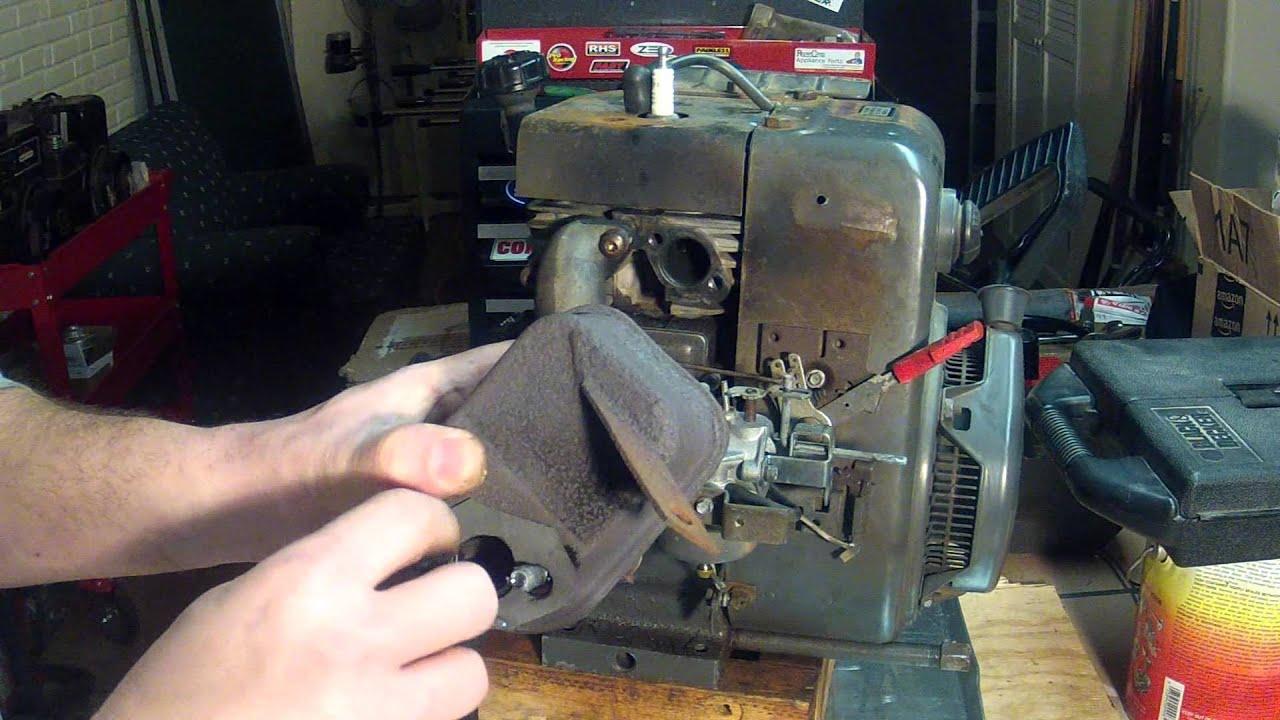 Tecumseh Hm80 Engine Part 12 - Muffler Installation