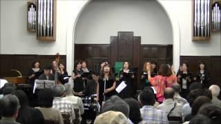 Minami Jazz Vocal Ensemble 2012 directed by Kaoru Azuma Osaka, Japa...