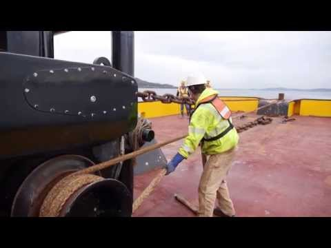 Maritime Training: Working on the Back Deck