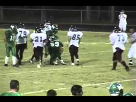 "#99 Michael Garcia, Hagerman High School, 6'4"" 235lbs. TE/WR Workout & Highlight"