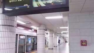 【ソウル】市庁駅接近メロディー【メトロ】