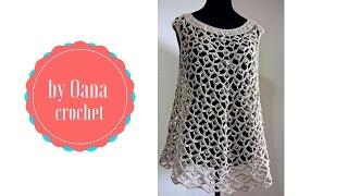Crochet summer top by Oana