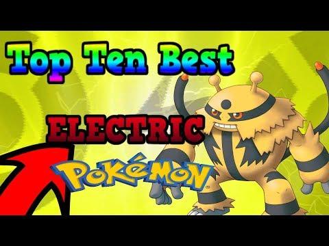 Top 10 Best ELECTRIC Pokemon - Pokemon Brick Bronze