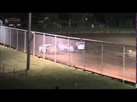 AMRA Modified B-Main #1 from Ohio Valley Speedway 8/9/14.