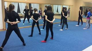 Тренировка. Современная хореография