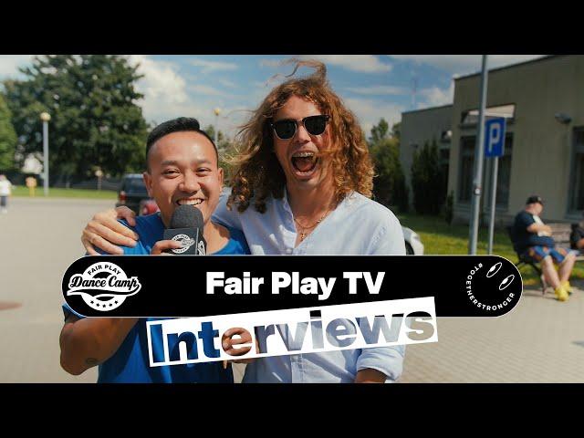 Fair Play Dance Camp 2021 | Interviews by Little Shao [FAIR PLAY TV]