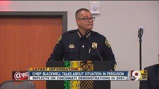 Cincinnati Police Chief Talks About The Situation In Ferguson Compared To Cincinnati In 2001
