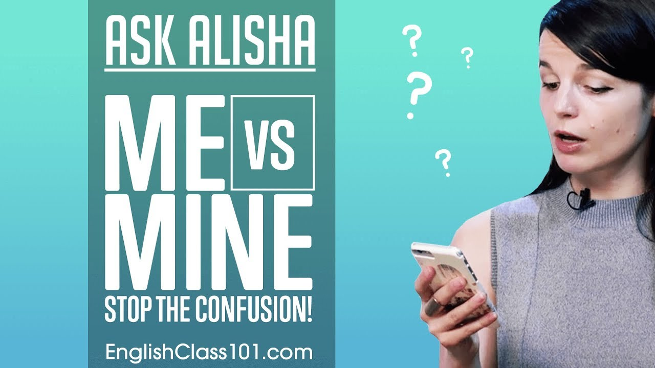 Me vs Mine: Show Possession in English - Basic English Grammar