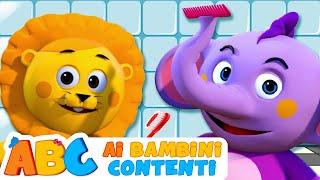 Laviamo i nostri denti | Filastrocche italiane per bambini