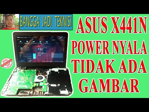 laptop-asus-x441n-power-nyala-tidak-tampil-gambar-/-service-x441n-rev.2.2-on-no-display
