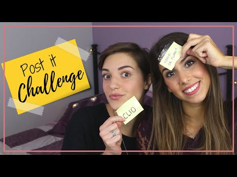 Ci sfidiamo a colpi di Post It!! | POST IT CHALLENGE