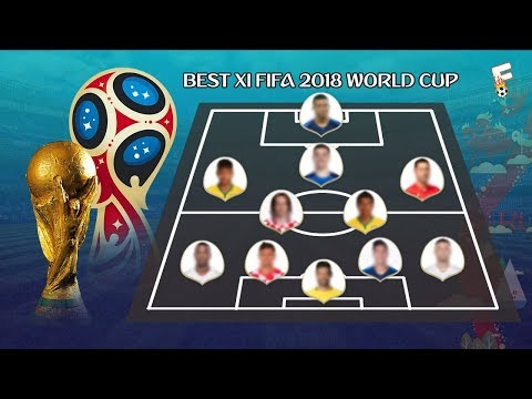 The FIFA Team of the Tournament For The 2018 World Cup ⚽ WORLD CUP 2018 BEST XI ⚽ Footchampion
