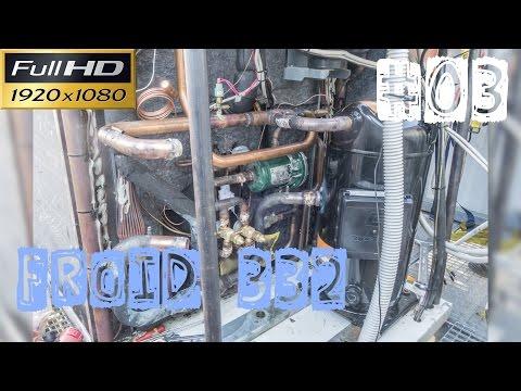 Froid332-PAC 3/4-Remplacement de 2 détendeurs Sporlan OZE 25 et 35 et un compresseur scroll de 160kg