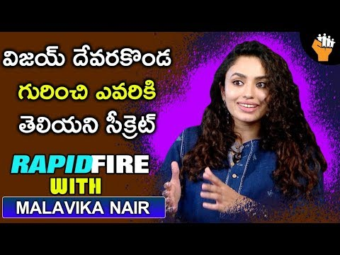 Rapid Fire With Malavika Nair | Taxiwala Malavika Nair Rapid Fire Round | Exclusive | Socialpost