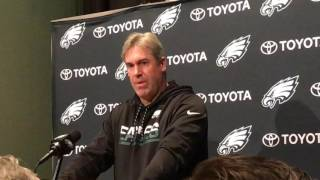 Eagles coach Doug Pederson talks about team