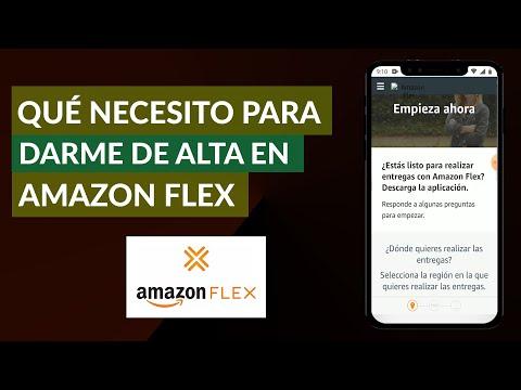 Qué Necesito para Darme de alta en Amazon Flex como Repartidor o Trabajador