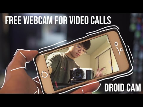 Don't buy a webcam! Use your phone Droid Cam