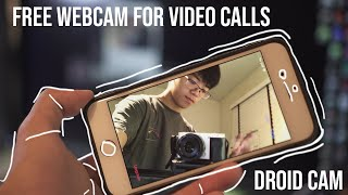Don't buy a webcam! Use your phone Droid Cam screenshot 5