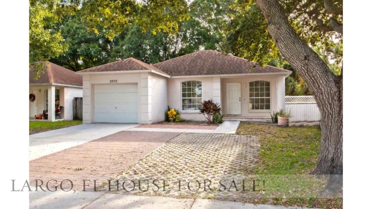 Largo Florida 3 Bedroom House For Sale _ 2035 Coral Way Largo Fl 33771