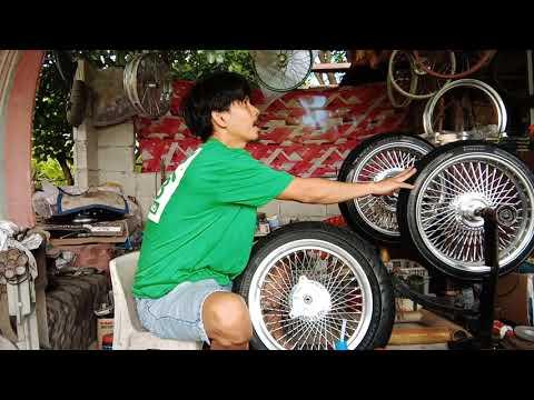 Tubeless Wiretype Motorcycle.