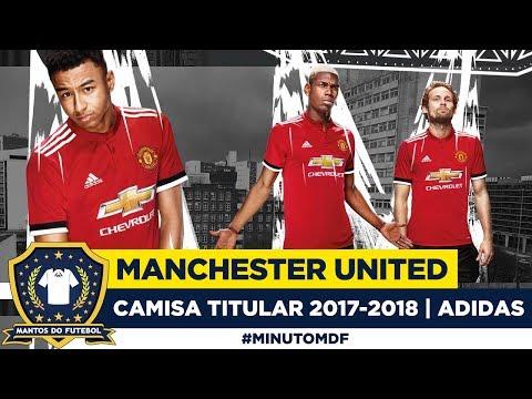 😈 Camisa do Manchester United 2017-2018 Adidas