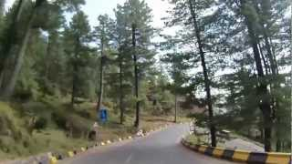 Islamabad to Murree through Expressway in HD - Part 2 of 2