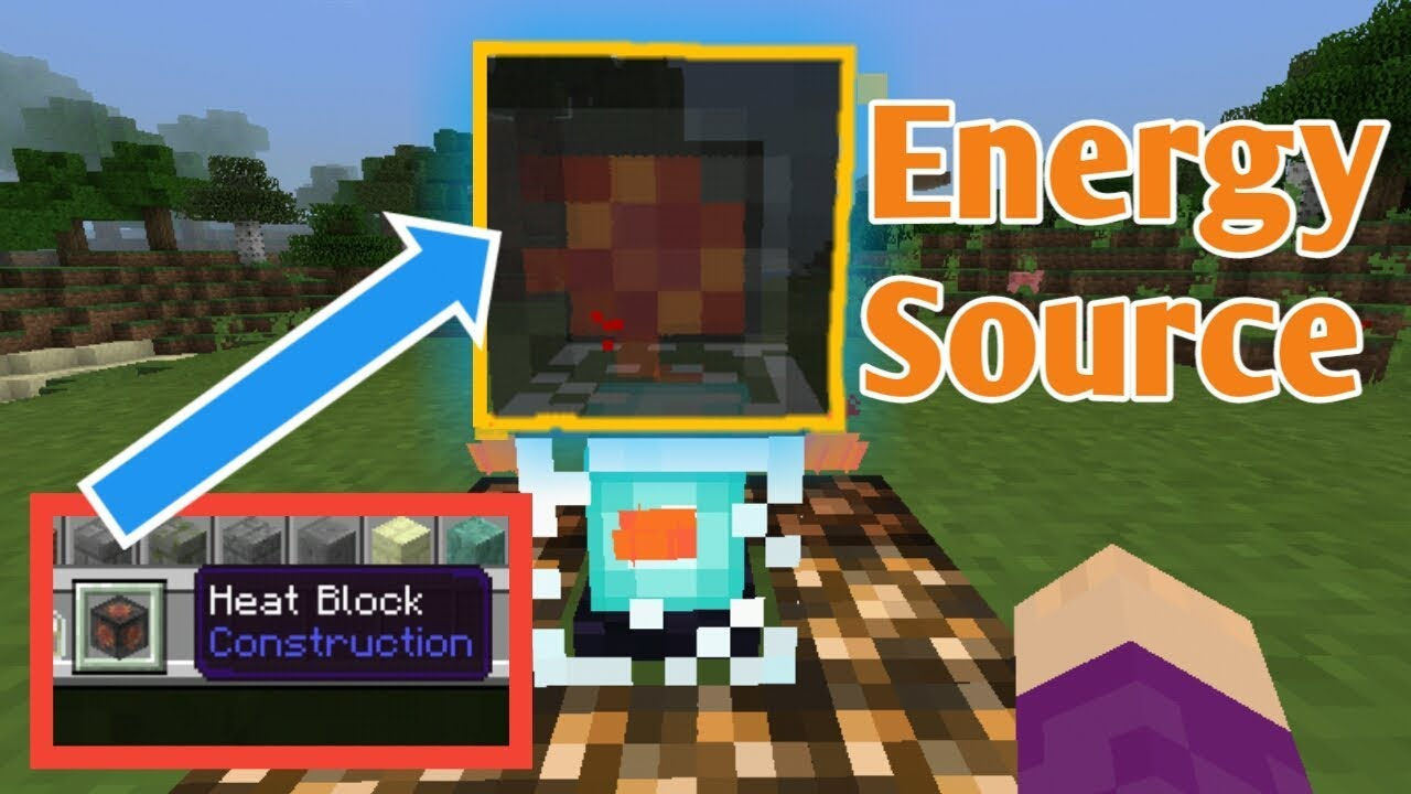 How to craft a Heat block in Minecraft chemistry update