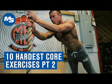 Top 10 Hardest Core Exercises Round 2 w/ Coach Myers