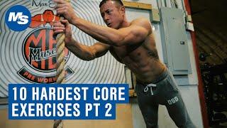 Top 10 Hardest Core Exercises Round 2 w/ Coach Myers