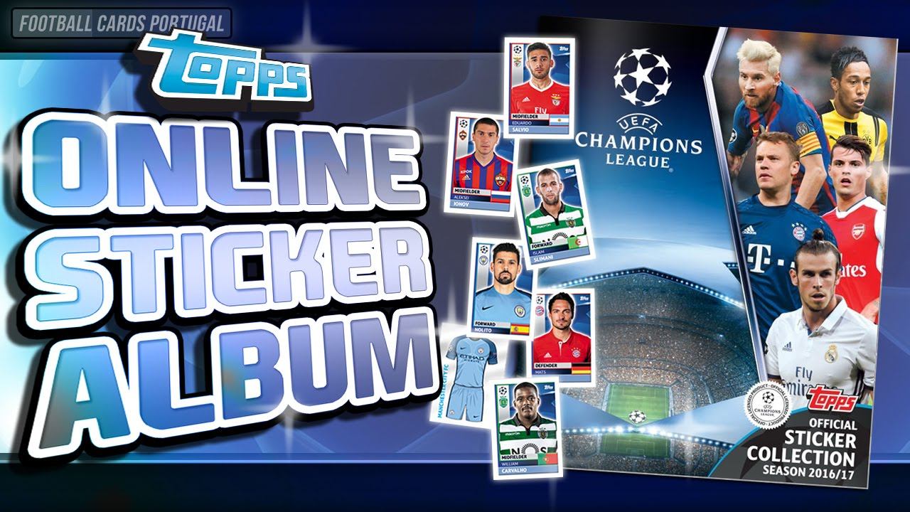 Topps UEFA Ligue des Champions Showcase Soccer Football Blaster Box 2016//17
