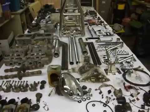 rickman cr kawasaki z1 1015cc parts for sale - youtube