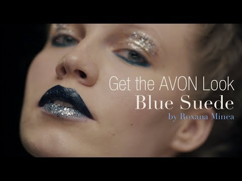 Get The Avon Look Ep3 Blue Suede By Roxana Minea Youtube
