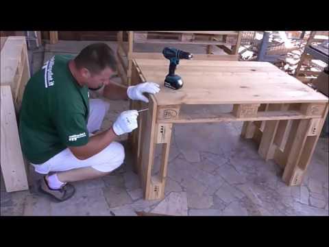 Assembly pallet Desk