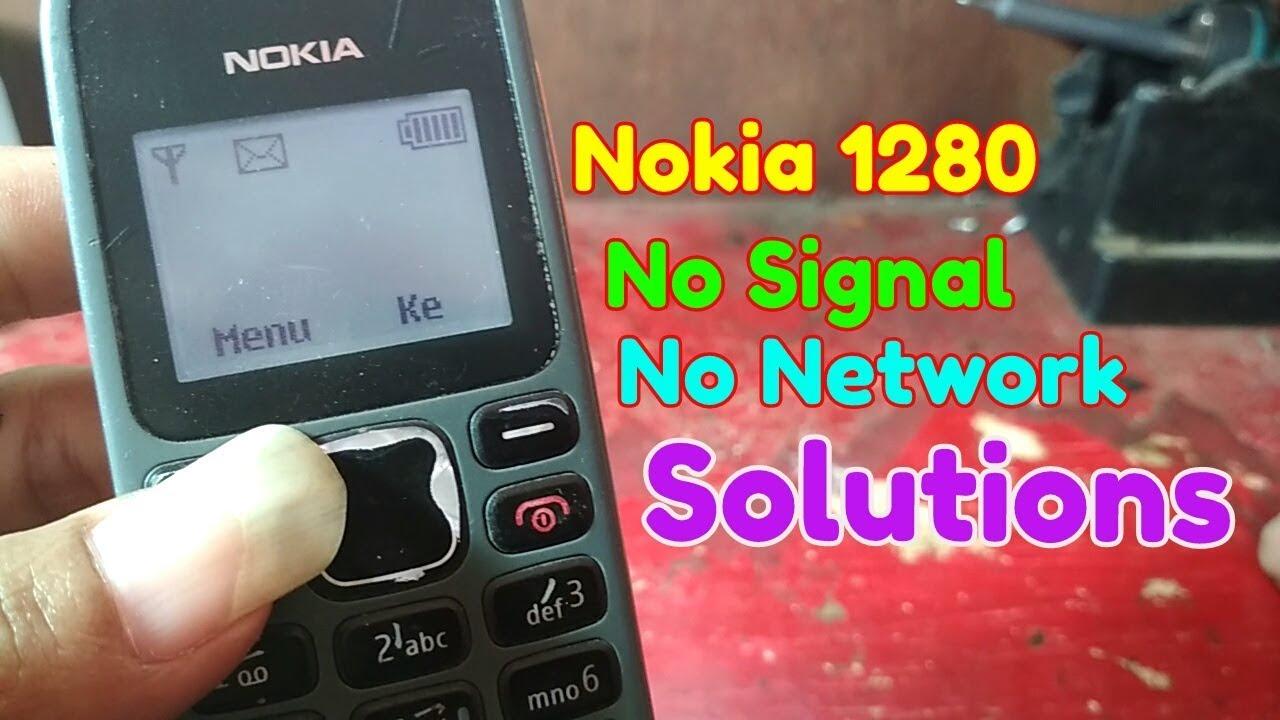 Nokia 1280 No Network Solutions Tidak Ada Sinyal Youtube
