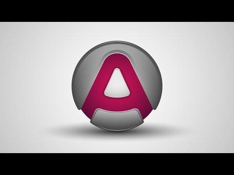 illustrator tutorial : Create Letter Logo Design Using Circle and Pen Tool - Text Effect Logo Design thumbnail