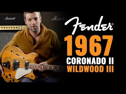1967 Fender Coronado II Wildwood III   CME Gear Demo