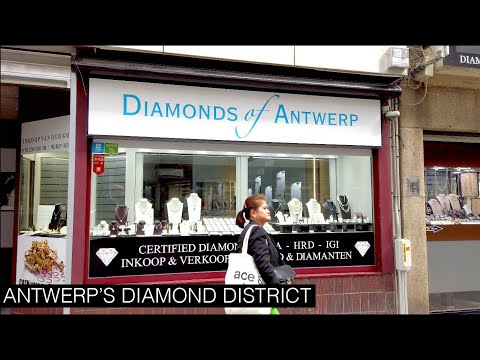 Walking through Antwerp's Diamond District | Point of View - Antwerp