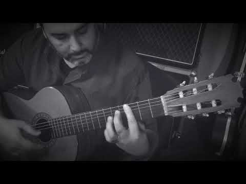 Ace Music & Production guitar instructor Eric Wallace performs a short exercise