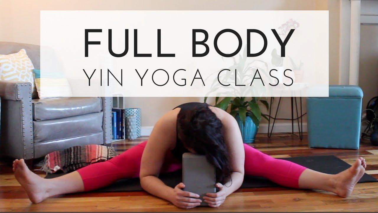 Free Full Body Yin Yoga Class with Grounding Meditation - 45 Minutes