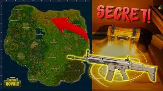 New Secret Loot Spot! - Best Beginner Loot Route | Fortnite Battle Royale Map Expansion