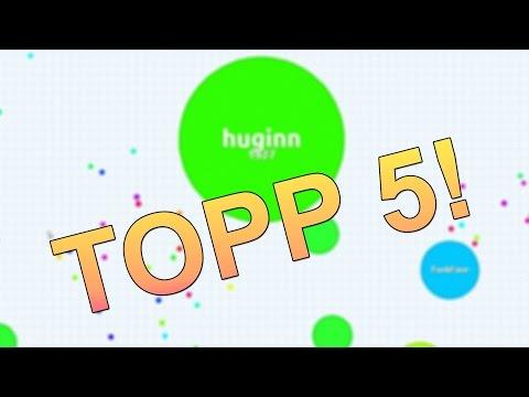 TOPP 5! HUGINN SPILLER AGAR.IO - Norsk Gaming