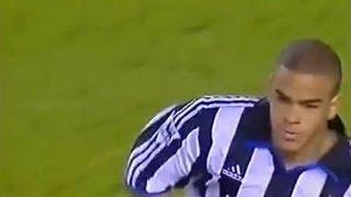 Boro v Newcastle 2000-01 SHEARER DYER GOAL