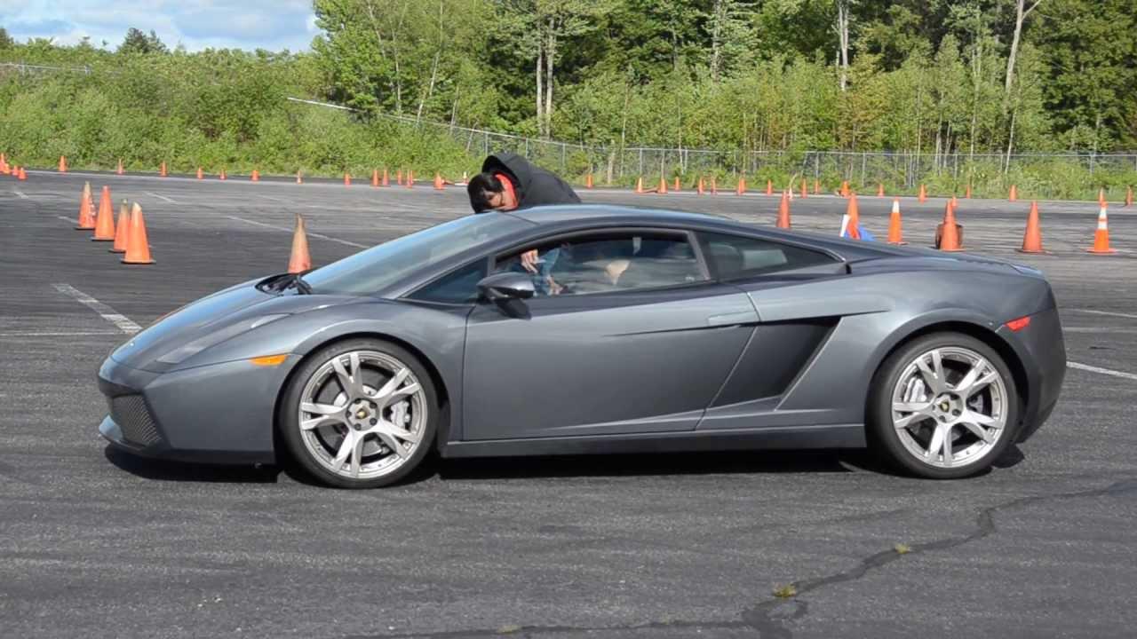 Lamborghini Gallardo Autocross - The Motorsport Lab - YouTube