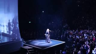 water under the bridge  Adele O2 Arena London 18 march 2016